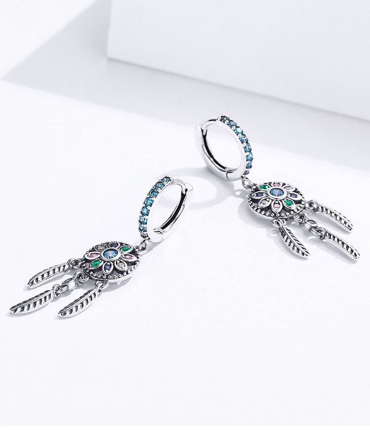 H7bc0d57ecee64fb0ab75b7045af53f16v - Dream Catcher Hanging Drop Earrings