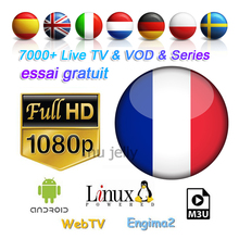 Get more info on the 4k IPTV France Full HD 1 Year Subscription Spain IPTV Italy Portugal Germany UK Sports Live satellite tv box M3u Mag25X Enigma2