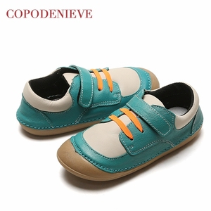 Image 3 - COPODENIEVE Hotsale leather lace up baby shoes Infant Toddler soft soled girls boys moccasins casual First Walkers shoes Spring