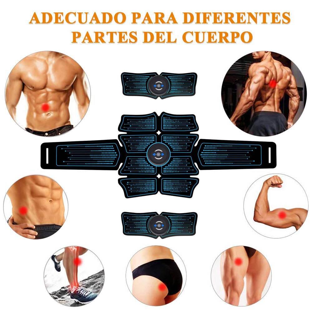 Abdominal Toning Trainer Muscle Toner ABS Muscle Stimulator Toner Fitness Belt k
