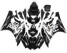 Nuevo completo carenados 100% apto para Yamaha YZF 600 R6 06 07 YZF-R6 2006 2007 ABS de plástico de la motocicleta Kit de carenado cubierta de
