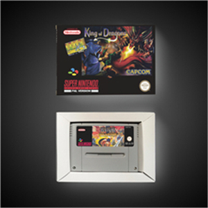 Image 1 - King of Dragons   EUR Version Action Game Card with Retail Box
