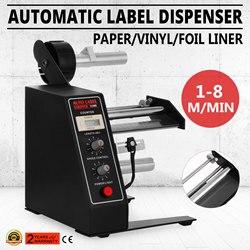 VEVOR Auto Label Dispenser Gerät Automatische Aufkleber Trennung Maschine AL-1150D NEUE Digitale Steuerung 4-140mm mit kostenloser versand