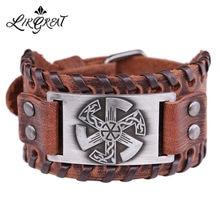 Likgreat wicca славянское уплотнение очаровательный браслет
