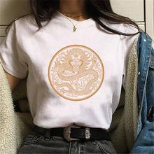 Женская Повседневная одежда размера плюс футболка femme уличная