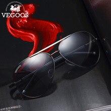 VEGOOS, мужские винтажные Поляризованные солнцезащитные очки, Классические авиационные солнцезащитные очки для вождения, рыбалки, очки для мужчин#3136
