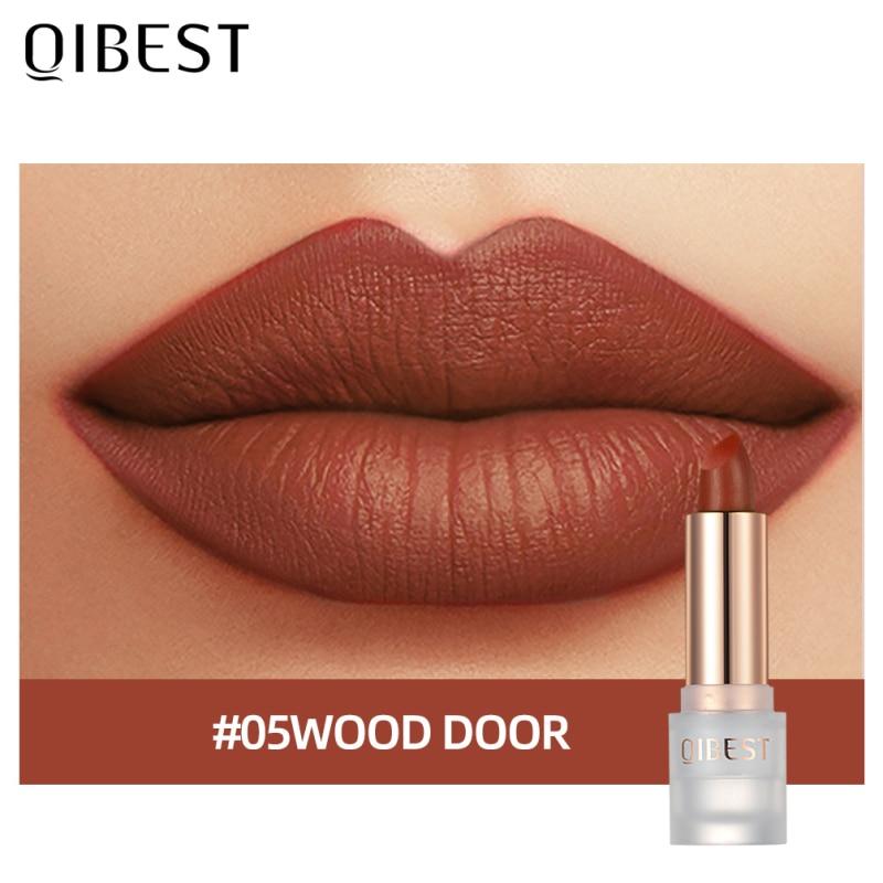 CmaaDu 6 Colors Matte Nude Lipgloss Makeup Velvet Red