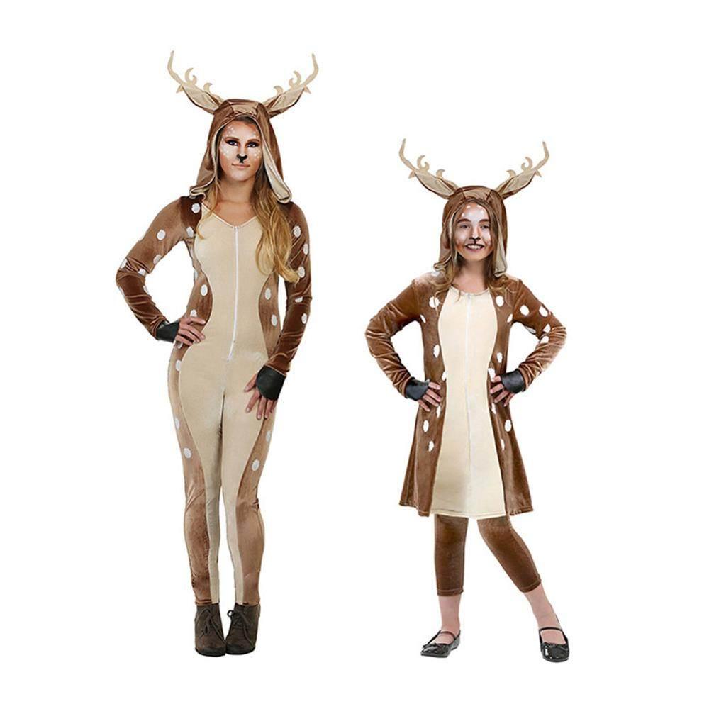 Animal Dress Up Porn adult santa reindeer cos women christmas jumpsuit cosplay costumes japanese  and korean christmas halloween cosplay costumes
