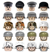 Army Bricks Guns-Accessories-Parts Weapons Building-Blocks Soldiers Action-Figures Ww2 Military