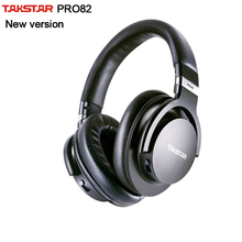Оригинальные Takstar PRO82/pro 82 профессиональные мониторные наушники, Hi-Fi гарнитура для стерео, ПК запись к песне игры, бас регулируемый