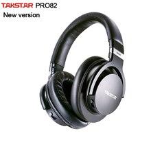 Takstar Original PRO82/pro 82 monitor profesional auriculares HIFI auriculares estéreo PC grabación K canción juego bajo ajustable