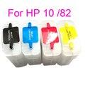 Многоразовый чернильный картридж Vilaxh для HP 10 82 с чипом ARC для принтера HP Designjet 500 500ps 800 800ps 820mfp 815mfp