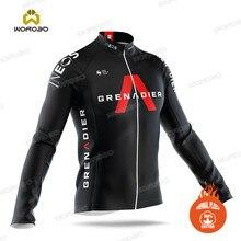 Ineos-Chaqueta de ciclismo para hombre, Jersey de bicicleta de invierno, sudadera de manga larga, Polar térmico, uniforme de ciclismo de montaña, ropa deportiva, 2020