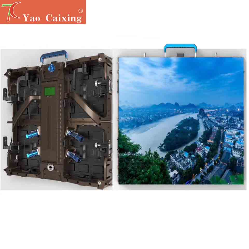 Outdoor Smallest Pixels P2.9 Waterproof Aluminum Cabinet Dot Matrix Stage Rental Led Display Screen