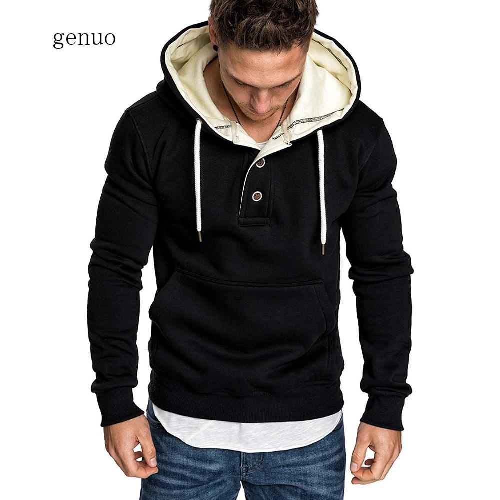 New Hoodies Men 2020 Spring Fashion Tracksuit Sweatshirt Men's Winter Warm Collar Cap Long Sleeves Pullover Sports Sweatshirts
