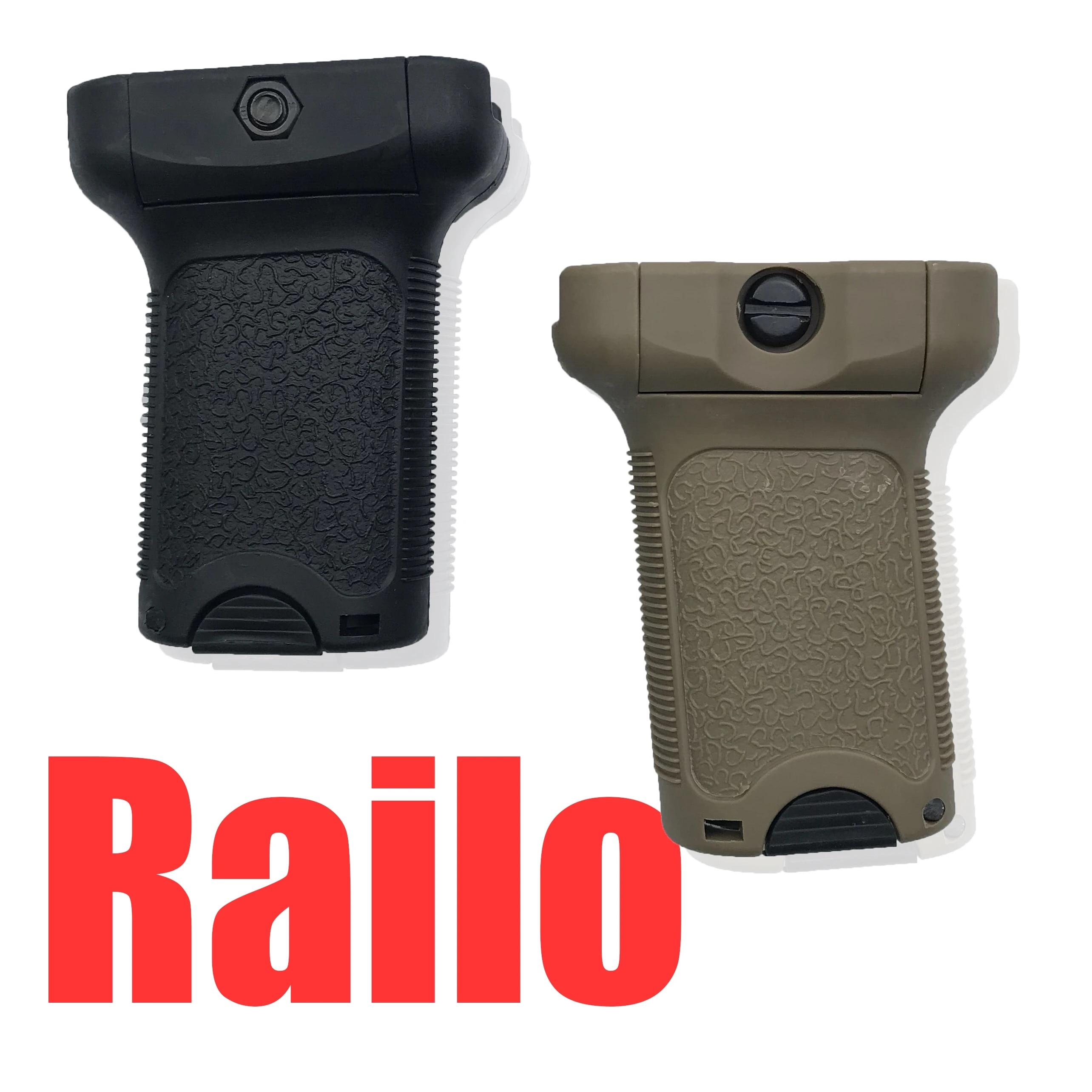 Airsoft BB Airgun AR15 Rifle Polymer Grip For 20mm Picatinny Rail