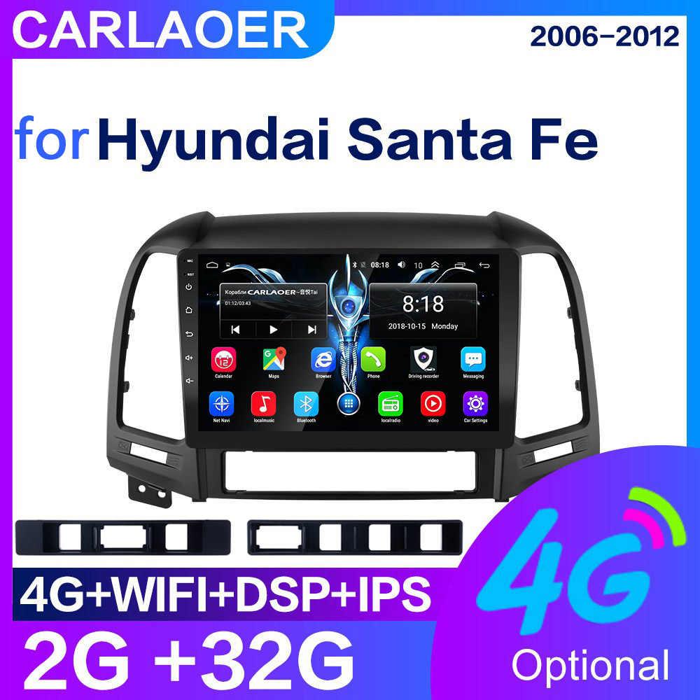 Android 8.1 odtwarzacz multimedialny dla Hyundai Santa Fe 2 2006-2012 nawigacja gps 2din wideo radioodtwarzacz samochodowy WiFi 4G SIM 2 din bez dvd