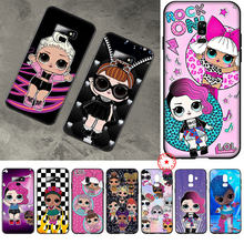 LOL Doll Soft Silicone Case for Samsung Galaxy A70S A20E A2 J4 J6 Plus Core J7 Duo J8 TPU Cover(China)