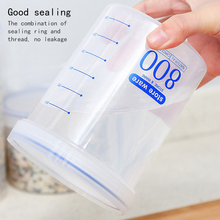 Kitchen Food Sealed Storage Tank Household Plastic With Cover Storage Bottle Snack Grain Storage Box 20