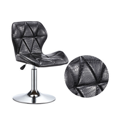 Bar Counter Chair Lift Chair Modern Concise Household Rotating Bar Chair Stool Reception Cashier Chair Backrest Stool