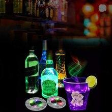 1 шт мини светящиеся подставки светодиодные наклейки на бутылки