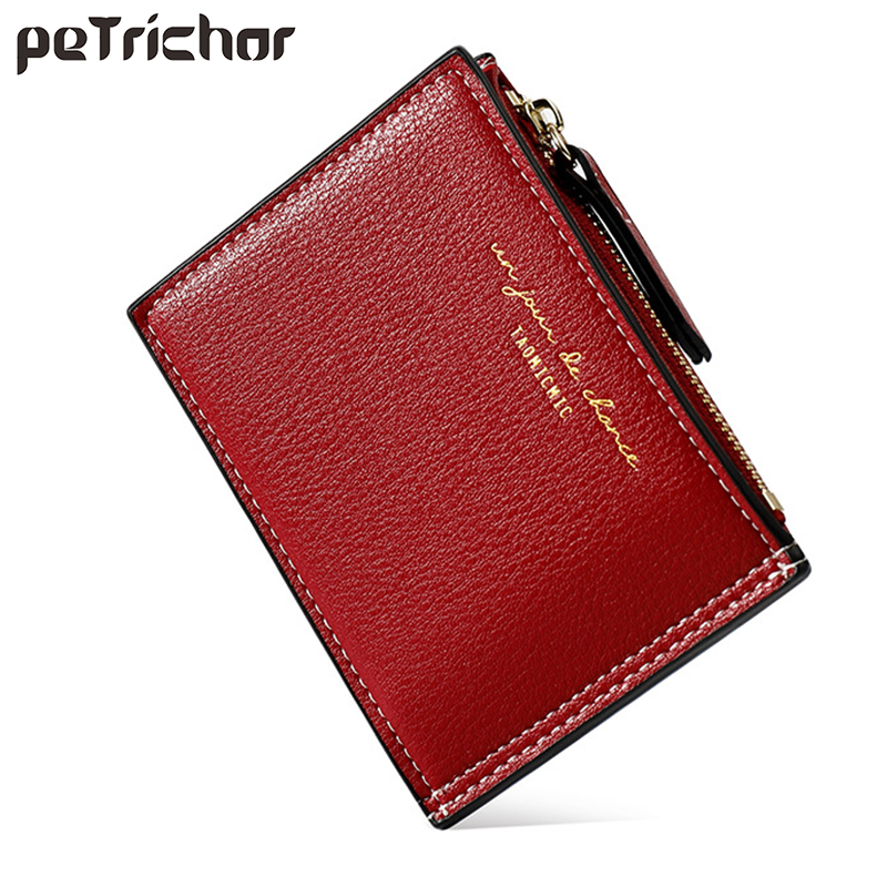 Women Wallets Synthetic Leather Female Purse Mini Hasp Card Holder Fashion Coin Short Wallets Slim Small Wallet Women Carteras