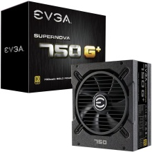 EVGA SuperNOVA 750 G+ 80 Plus Gold 750W Fully Modular FDB Fan Includes Power ON Self Tester Power Supply