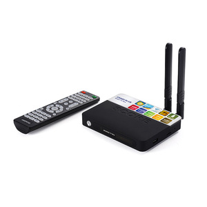 Image 1 - CSA93 プラスの Android 8.1 Tv ボックス RK3328 4 ギガバイト/64 ギガバイト RK3328 クアッドコア 5 3G WIFI の BT 4.0 4 4K テレビボックス時刻表示 USB 3.0 セットトップボックス