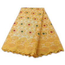 Lace-Fabric Swiss Voile Switzerland Nigerian High-Quality Cotton African PGC for Sewing