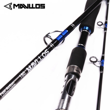 цена на Mavllos FUJI Guide Lure Weight 70-250g Sea Boat Jigging Fishing Rod 2.1M 3 Sections Carbon Fiber Saltwater Spinning Fishing Rod