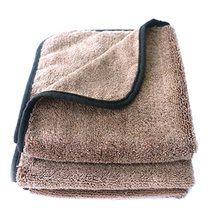 Car Wash Tool Microfiber Cleaning Towel Portable Thickening Absorbent Lint Drying