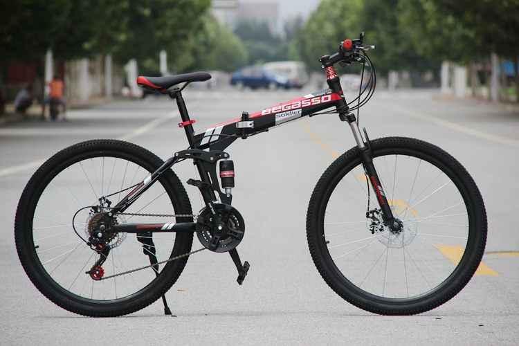 Bicicleta eléctrica de montaña con Motor plegable, de 26 pulgadas, 48V, 15Ah, batería de litio, 500W
