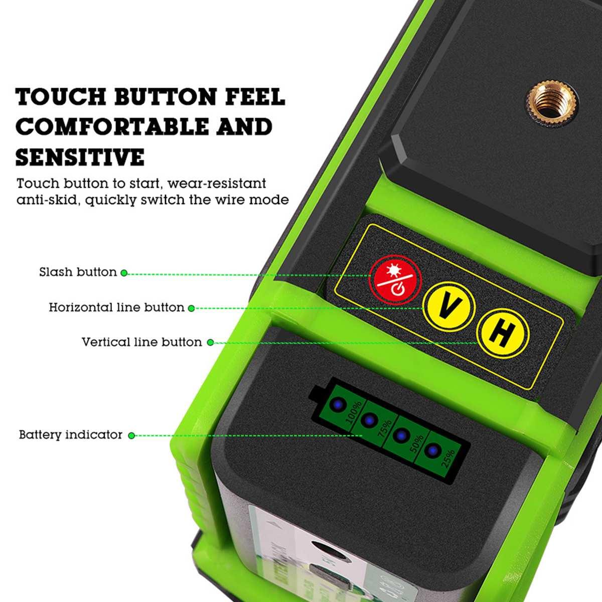 ZEAST 12 Linie Selbst nivellierung Green Laser Level 360 Grad 3D Laser Niveau Maschine Horizontale Und Vertikale Kreuz Bau werkzeuge