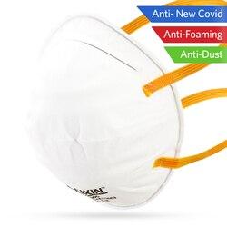 100 Uds Anti-polvo protector no tejido cubierta de la boca de seguridad transpirable oído máscaras con lazo Anti polvo PM2.5 bacterias cubierta de la boca como KN95