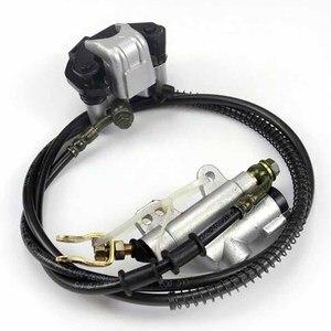 Image 5 - TDPRO Go Kart Rear Axle Kit Brake Hub Disc Rotor T8F Chain Sproket Brake Assembly Master Cyclinder Wheel Hub Set Assembly