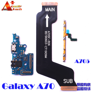 For Samsung Galaxy A70 A705F A705DS A705FN power volume side button strip mainboard LCD USB charing board microphone flex cable