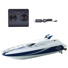 4CH 2.4G RC Speed Boat Super Electric Racing RC Boat Ship Remote Control High Speed Kids Child Toys Gift