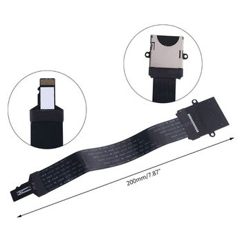 SD card Female to TF micro SD Male Flexible Memory Card Extension cable reader cewaal tf to micro sd card flex zip extension cable extender adapter reader for gps phone car memory card extender cord linker