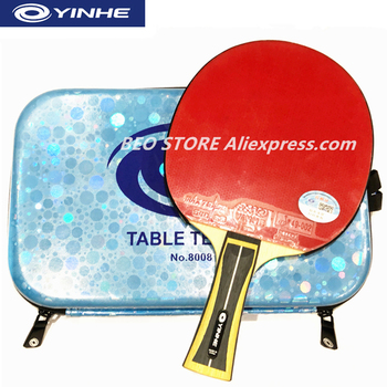 YINHE 11-Star Racket Galaxy Arbalest Sponge Quick Attack Loop Table tennis rackets ping pong bat milky way galaxy yinhe bamboo chinese penhold short handle cs table tennis pingpong blade loop attack