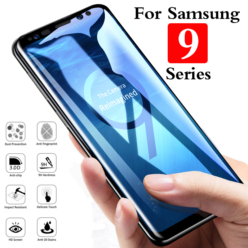 tempered glass for samsung note 9 s9 plus phone case Protective glass on galaxy note9 s9plus safety Accessories film original 3d