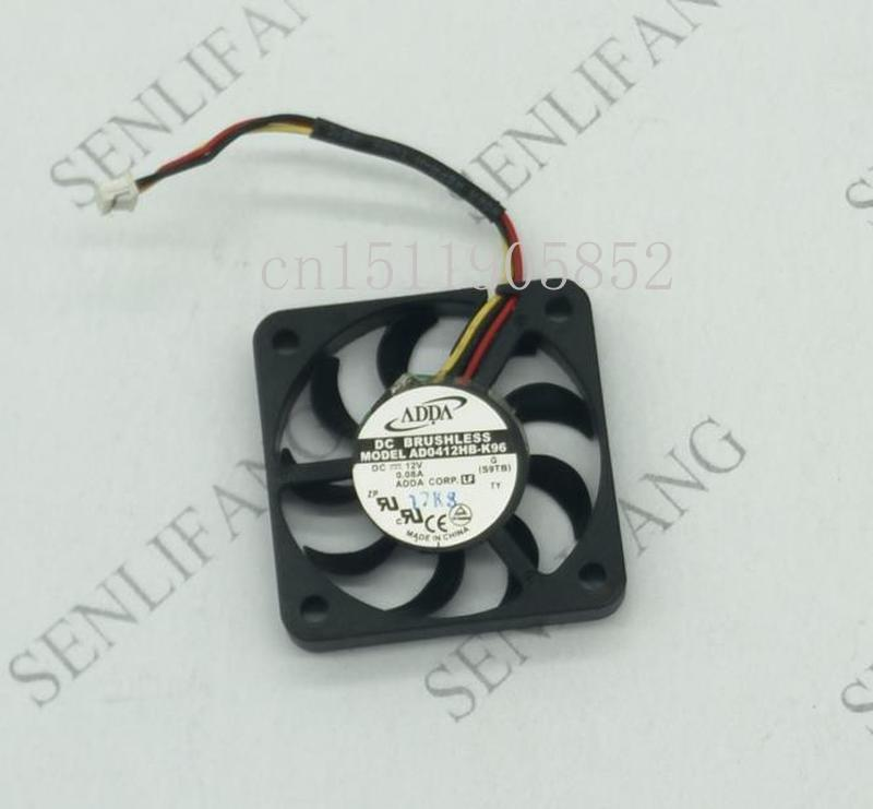 Free Shipping New Original For ADDA 4cm AD0412HB-K96 4006 12V 0.08A Ultra-thin Ball Cooling Fan