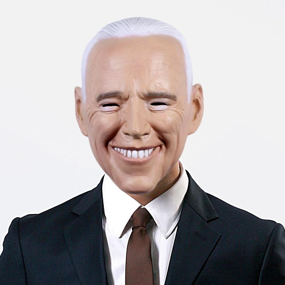 Маска Джо биден, 2020 год, кампания президентских выборов, голосование за Джо биденовые маски, шлемы, реквизит для костюма на Хэллоуин Вечерни...
