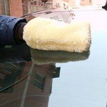 Auto Microfiber Pluche Mitt Car Wash Glove Mitten Wassen Borstel Gereedschappen Auto Detailing Borstels Spons Auto Wassen Tool tanie tanio Cn (Oorsprong) 23 5cmcmcm Plush 55ggg Washing Glove 15cmcmcm