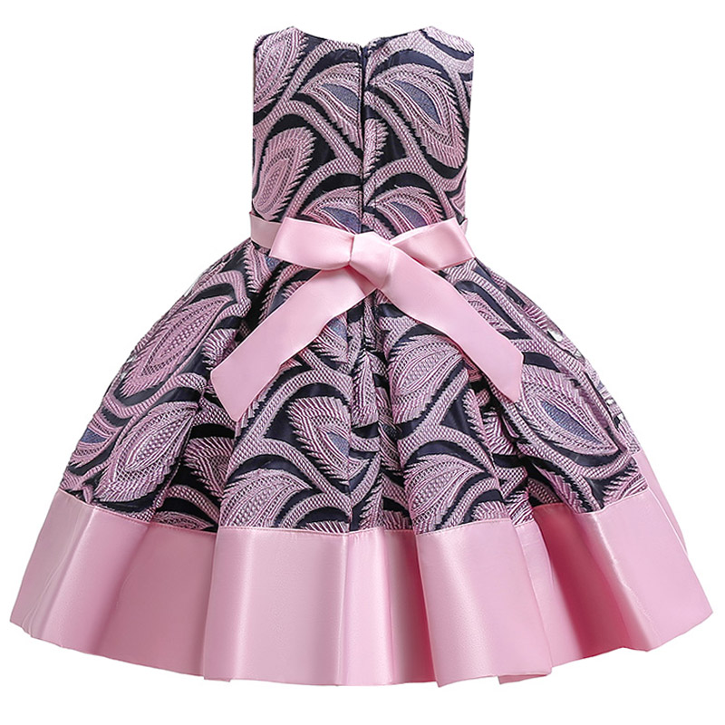 Новинка года; печать девушек; платье в полоску без бретелек; детское платье-пачка принцессы с бантом и надписями; Детские вечерние платья на день рождения