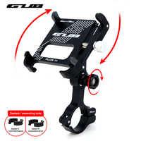 """GUB Aluminium Fahrrad Telefon Halter 3.5 """"bis 7.5"""" Fahrrad Telefon Montieren Sport Kamera Licht Träger Motorrad Lenker Clip stehen"""