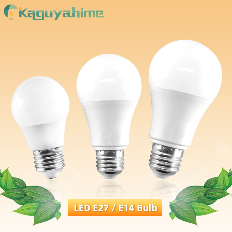 Kaguyahime 1pc/5pcs LED E27 Bulb 6W 9W Dimmable Lamp E14 220V LED Bulb E27 LED Light Lampadas Bombillas Warm White Cold White