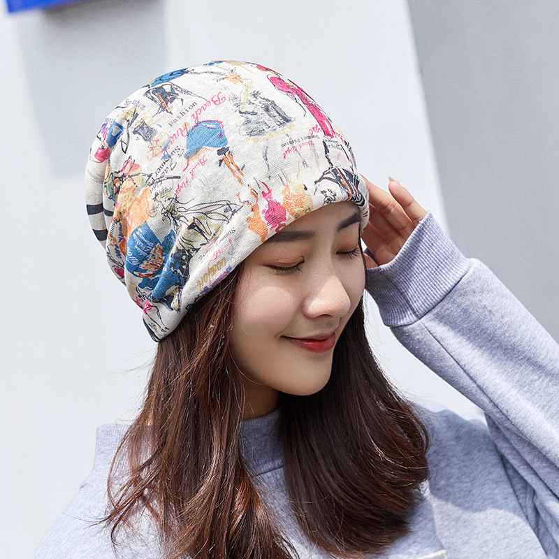 2020 New Korean Summer Breathable Pullover Cap Female Personality Travel Basin Cap Bundle Hat