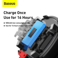 Baseus Car Solar Reading Light High Quality Eye Protection LED In-car lamp Magnetic Hanging Lights with USB & Solar Charging