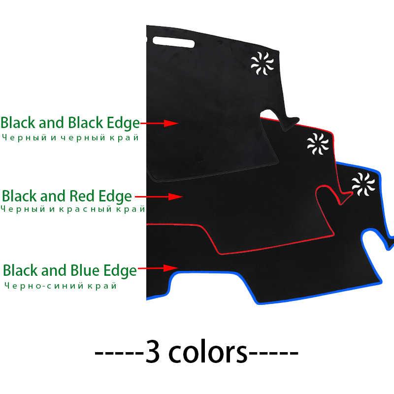 Toyota Alphard için 2002 2003 2004-2007 pano mat koruyucu ped gölge yastık pedi İç sticker araba styling aksesuarları