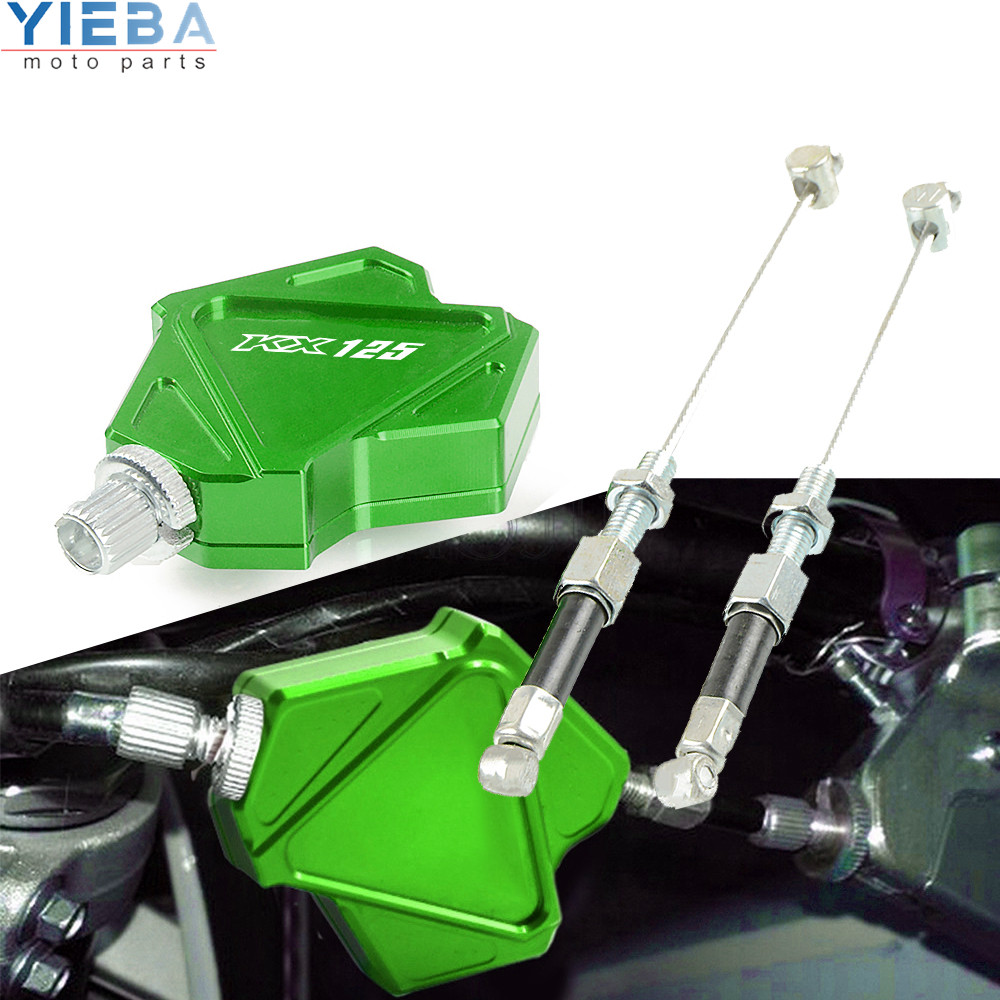 Motorcycle Easy Pull Clutch Lever System Stunt Cable <font><b>Parts</b></font> For KAWASAKI KX125 <font><b>KX</b></font> <font><b>125</b></font> 1999 2005 2020 2003 2004 1991 2002 94-1998 image